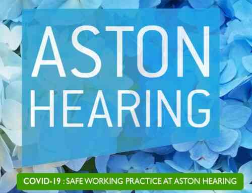 Covid-19 Safe Working Practice at Aston Hearing