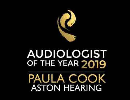 Paula Cook is the UK Audiologist of the year!