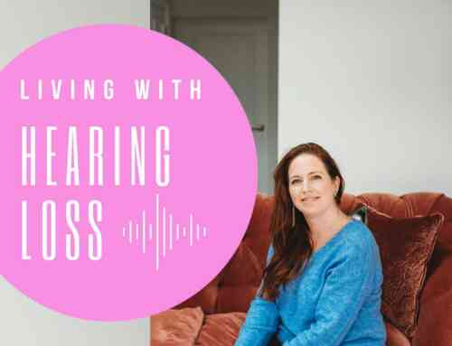 "Amy Morton and ""Living with Hearing Loss"""