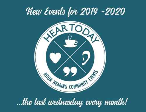 Hear Today Event,  24th April 2019 (Princes Risborough)