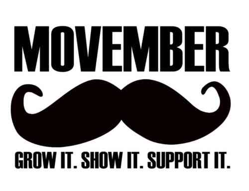 Movember–Time to look after the men in your life